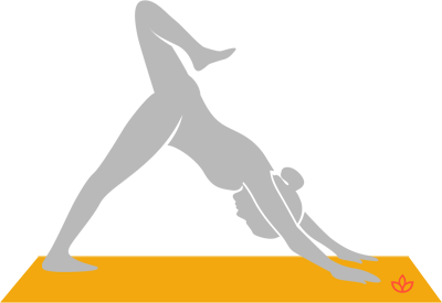 Downward-Facing Dog With Stacked Hips