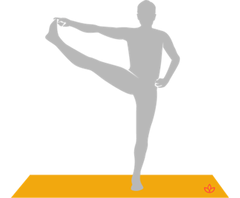 Extended Hand-to-Big Toe Pose