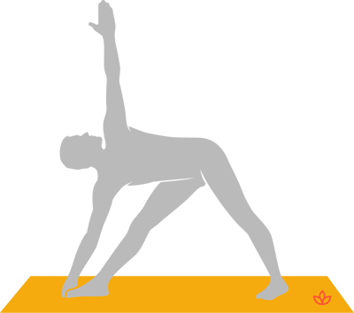 what is extended triangle pose  definition from yogapedia