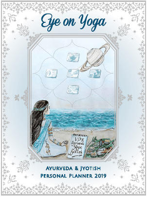 Enter to Win an Eye on Yoga - Ayurveda & Jyotish Personal 2019 Planner! Giveaway Contest