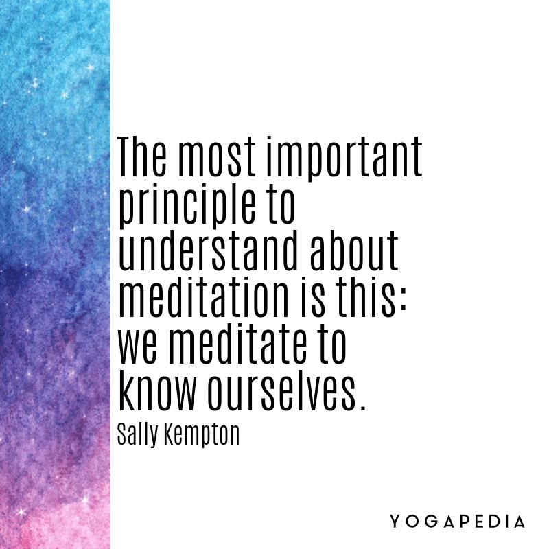 Sally Kempton Quote meditation