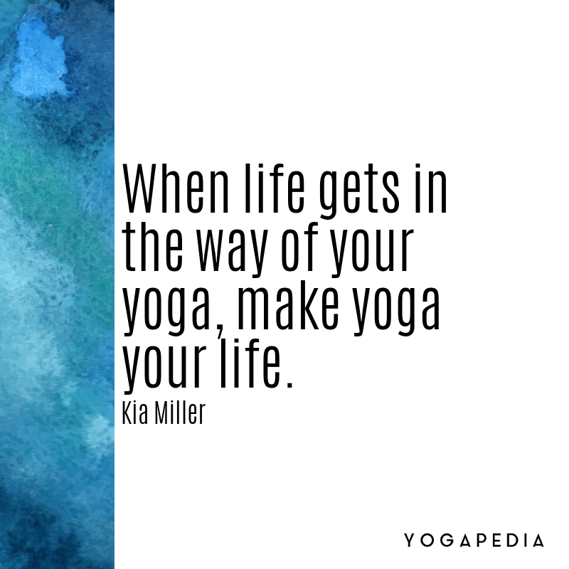 Kia Miller quote yoga