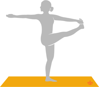 Dancing Shiva Pose