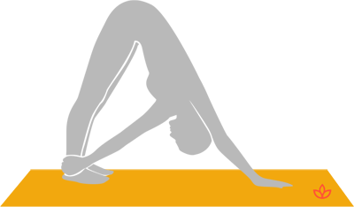 Revolved Downward-Facing Dog Pose