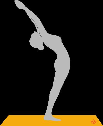 what is hasta uttanasana  definition from yogapedia