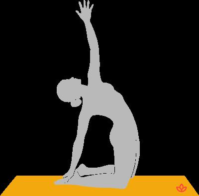 what is parivrtta ustrasana  definition from yogapedia