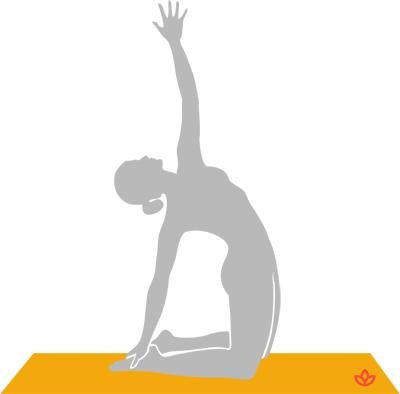 what is revolved camel pose  definition from yogapedia