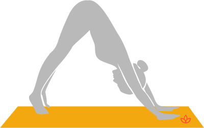 Downward-Facing Dog With Toe Raises
