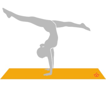 Handstand Split Pose