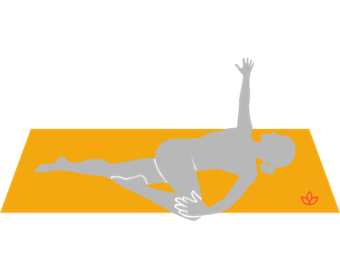 Supine Spinal Twist Pose