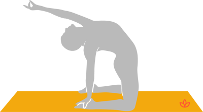 what is half camel pose  definition from yogapedia