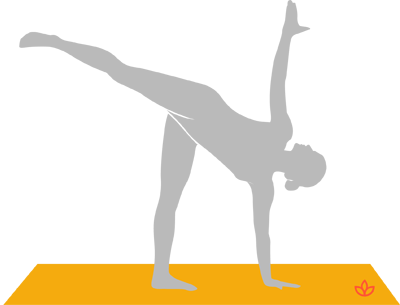 what is half moon pose  definition from yogapedia