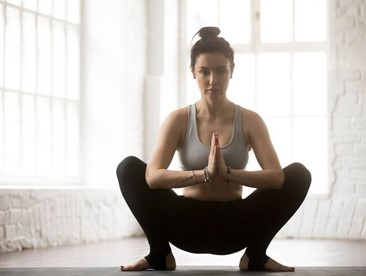 Why do yogis squat?