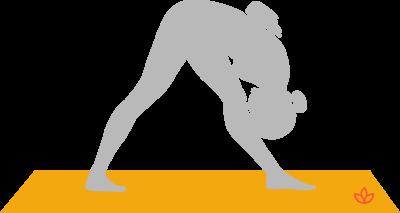 parsvottanasana pyramid pose yoga asana