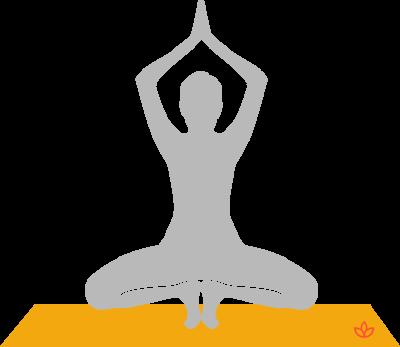 Baddha Konasana balancing butterfly pose yoga asana
