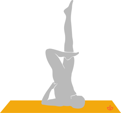 what is ardha padma sarvangasana  definition from yogapedia