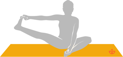 Half Upright Seated Angle Pose