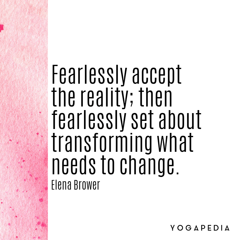 Elena Brower yoga quote