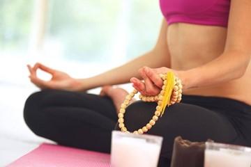 Meditating With Mala Beads