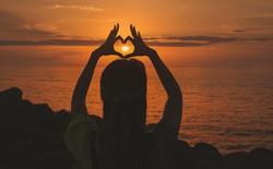heart chakra heart at the beach