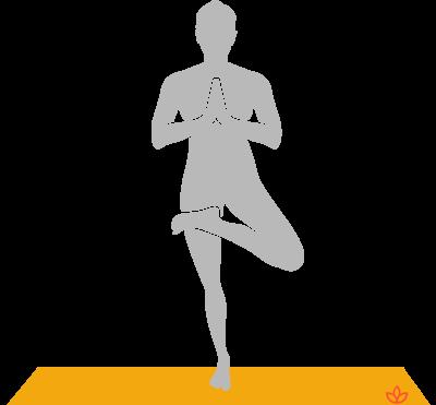 Standing Half Lotus Pose