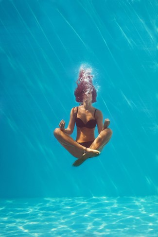 What Aqua Yoga Taught Me About the Yamas