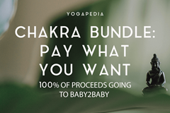 Yogapedia chakra bundle - pay what you want proceeds go to Baby2Baby