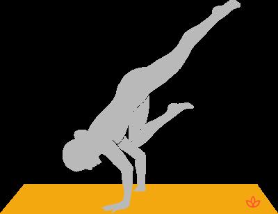 One-Legged Crane Pose