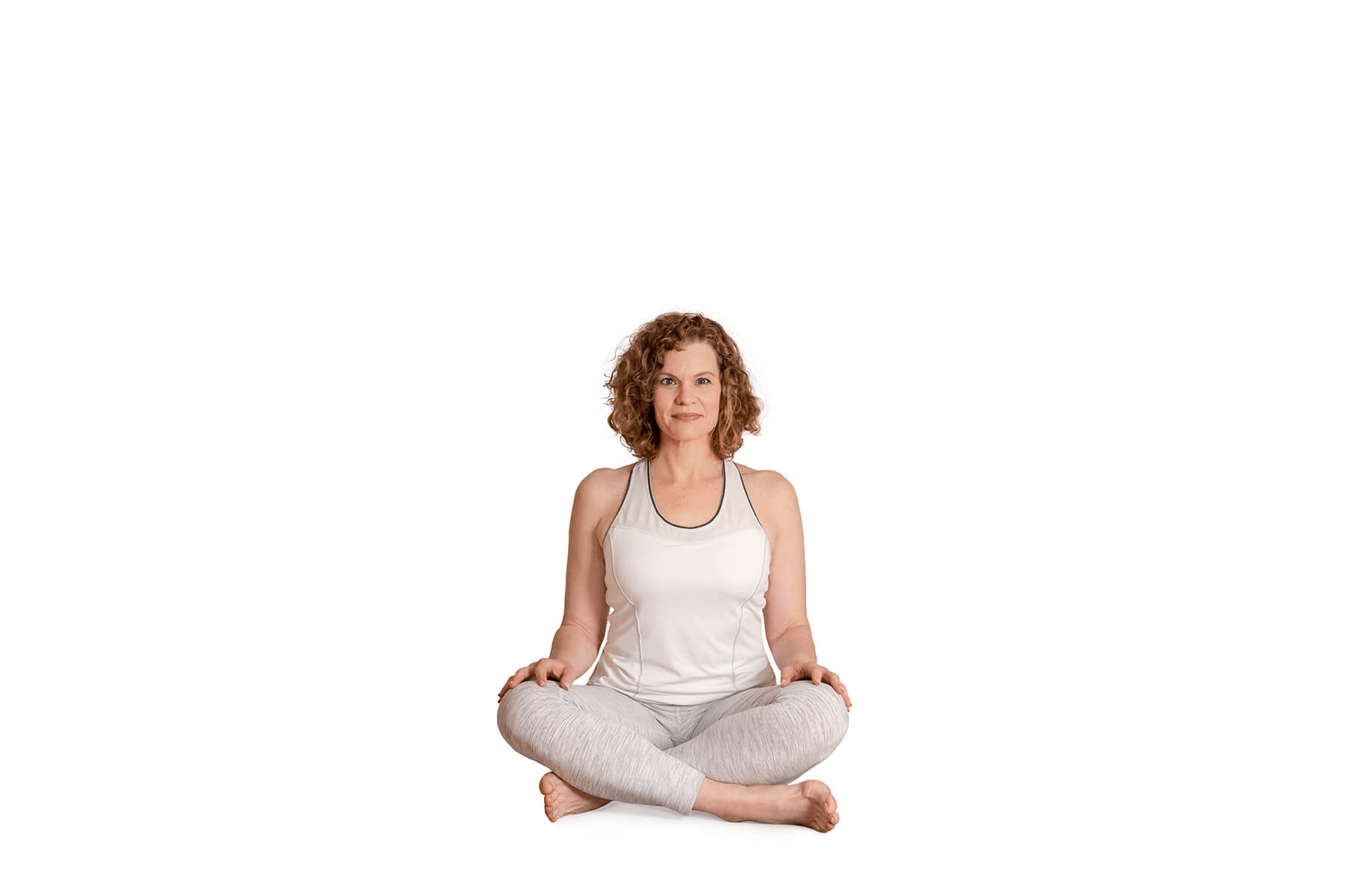 barrie risman in simple seated position yoga