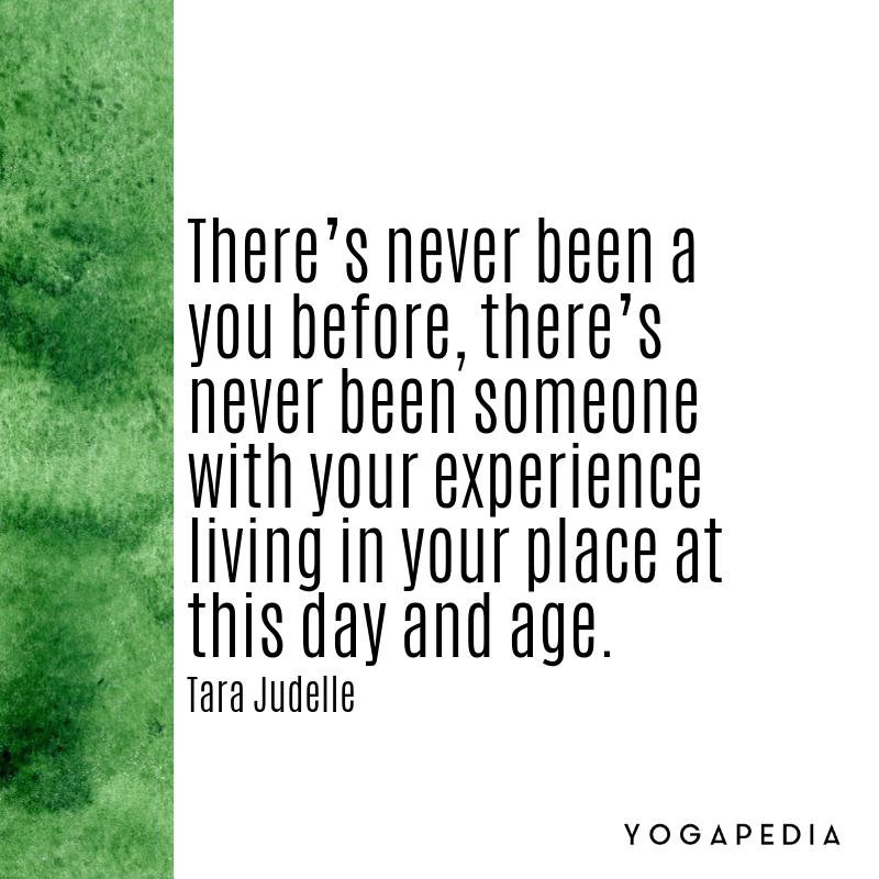 Tara Judelle yoga quote