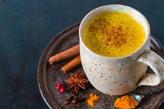 Golden Milk: The Yogi's Pumpkin Spice Latte