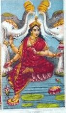 Goddess Kamala
