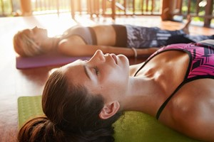 Rejuvenating in Savasana