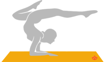 One-Legged Stretched Out Scorpion Pose