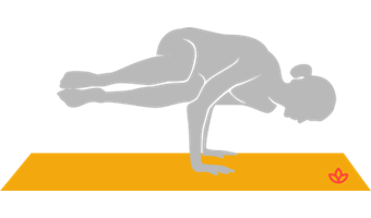 Side Crow Pose