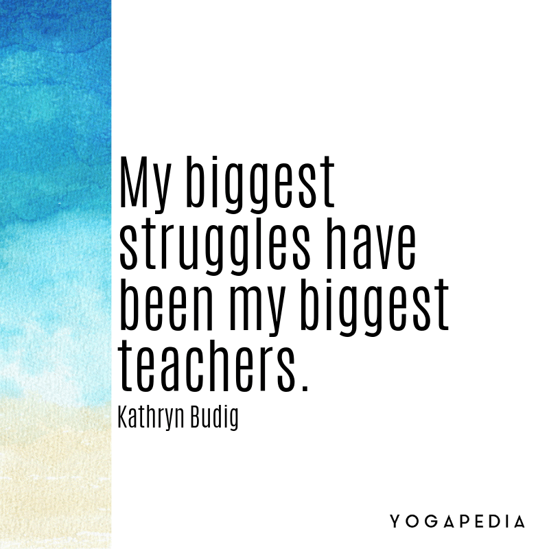 Kathryn Budig quote
