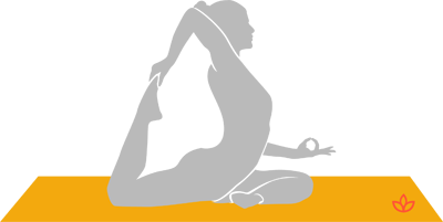 what is onelegged king pigeon pose a  definition from