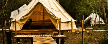 Glamping Yoga Retreat