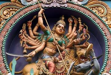 Happy Navratri! Celebrate Hinduism's Warrior Goddess Durga