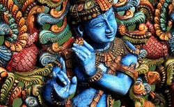 Beat the Blues With Hindu's Lovable Lord Krishna