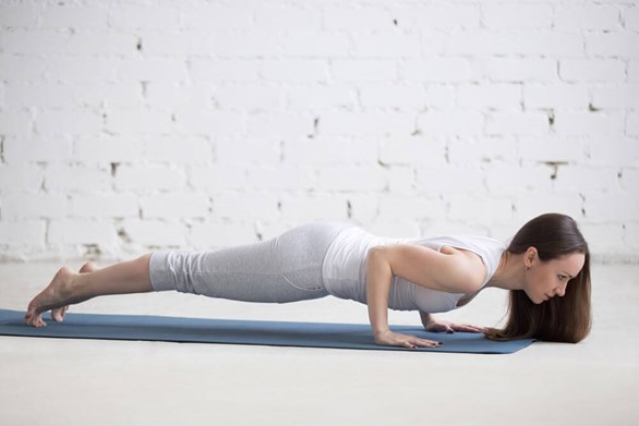 How to Hold Proper Chaturanga Alignment