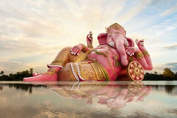The Story of Hinduism's Elephant-Headed Deity, Ganesh (and How to Call Upon His Good Fortune)