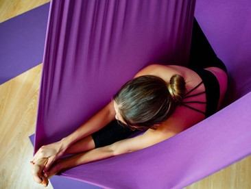 Take to the Air: An Introduction to Aerial Yoga