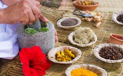 What kind of treatment methods does Ayurveda use?