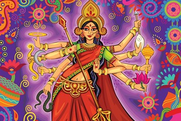 Goddess Durga: The Embodiment of Pure Force