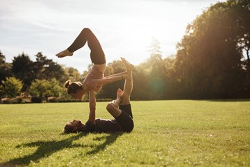 Top 5 Reasons to Practice AcroYoga