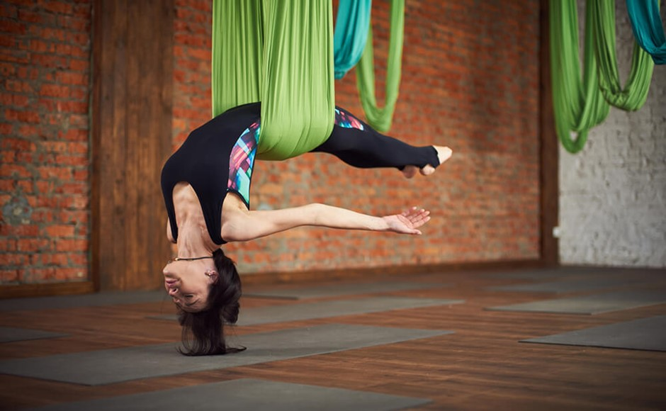 Top 5 Reasons to Practice Aerial Yoga