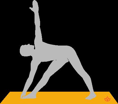 extended triangle pose  utthita trikonasana  yogapedia