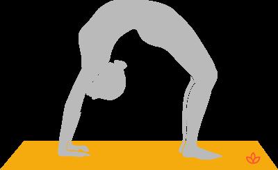 half wheel pose  ardha chakrasana  yogapedia