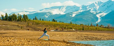 Celebrate Earth Day by Doing Nature Yoga